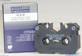 Ribbon, metallic silver/silber für Citizen-Drucker
